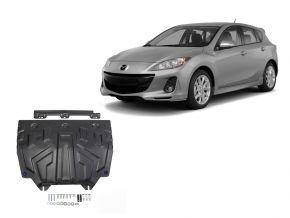 Acél motor- és sebváltóvédő-burkolat Mazda 3 1,5; 1,6; 2,0 2013-