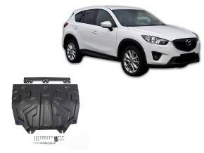 Acél motor- és sebváltóvédő-burkolat Mazda CX-5 2,0; 2,5; 2,2D 2011-2017