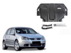 Acél motor- és sebváltóvédő-burkolat Volkswagen  Golf V minden motorhoz illeszkedik 2004-2008
