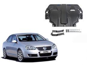 Acél motor- és sebváltóvédő-burkolat Volkswagen  Jetta minden motorhoz illeszkedik 2009-2017