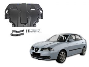 Acél motor- és sebváltóvédő-burkolat Seat Cordoba III minden motorhoz illeszkedik 2003-2009
