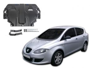 Acél motor- és sebváltóvédő-burkolat Seat Toledo III 1,6; 2,0TDI 2004-2009