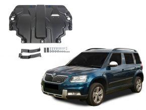 Acél motor- és sebváltóvédő-burkolat Skoda  Yeti minden motorhoz illeszkedik 2009-2017