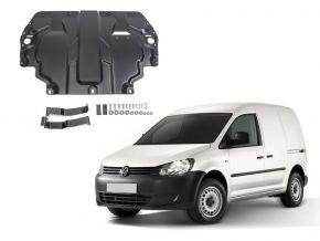 Acél motor- és sebváltóvédő-burkolat Volkswagen  Caddy IV minden motorhoz illeszkedik (w/o heating system) 2015-