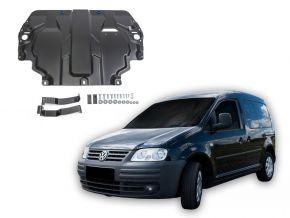 Acél motor- és sebváltóvédő-burkolat Volkswagen  Caddy III minden motorhoz illeszkedik (w/o heating system) 2006-2015