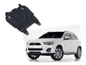 Acél motor- és sebváltóvédő-burkolat Mitsubishi ASX 1,6; 1,8; 2,0 2010-2018