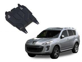 Acél motor- és sebváltóvédő-burkolat Peugeot  4007 2,2; 2,4 2007-2012
