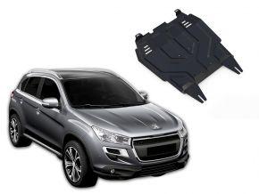 Acél motor- és sebváltóvédő-burkolat Peugeot  4008 minden motorhoz illeszkedik 2012