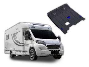 Acél motor- és sebváltóvédő-burkolat Peugeot  Boxer Caravan minden motorhoz illeszkedik 2014