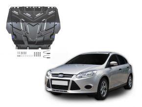 Acél motor- és sebváltóvédő-burkolat Ford  Focus III minden motorhoz illeszkedik 2011-2018