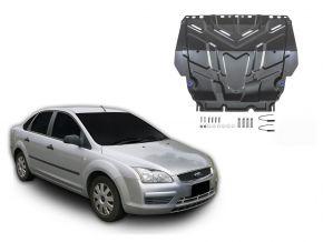 Acél motor- és sebváltóvédő-burkolat Ford  Focus II minden motorhoz illeszkedik 2005-2011