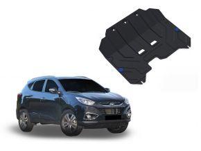 Acél motor- és sebváltóvédő-burkolat Hyundai  ix35 minden motorhoz illeszkedik 2010-2015
