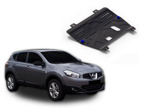 Acél motor- és sebváltóvédő-burkolat Nissan  Qashqai 1,6; 2,0 2006-2014