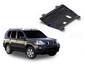 Acél motor- és sebváltóvédő-burkolat Nissan  X-Trail T31 2,0; 2,5 2007-2013