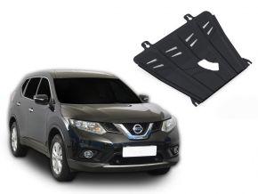 Acél motor- és sebváltóvédő-burkolat Nissan X-Trail T32 2,0; 2,5 2015