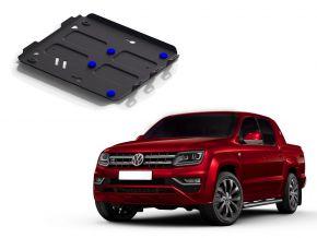 Acél motor- és hűtőburkolat Volkswagen Amarok 2,0TDI; 3,0TDI 2010-2016 , 2016-