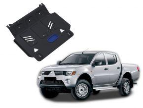 Acél motorvédő-burkolat MITSUBISHI L200 / TRITON 2,5TD 2007-2015