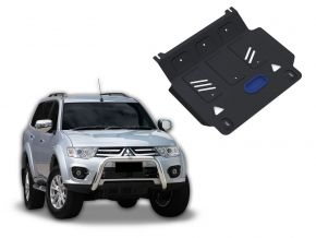 Acél motorvédő-burkolat MITSUBISHI PAJERO SPORT / CHALLENGER / MONTERO SPORT 3,0; 3,2 2007-2015
