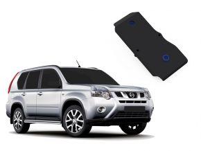 Acél differenciálmű-burkolat Nissan X-Trail 4WD 2,0; 4WD 2,5 (csak afeltüntetett motorokhoz!), 2007-2013