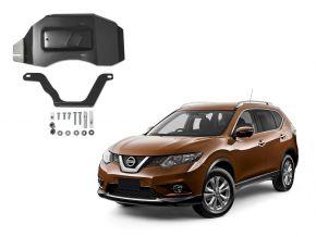 Acél differenciálmű-burkolat Nissan X-Trail 4WD 2,0; 4WD 2,5 (csak afeltüntetett motorokhoz!), 2015-