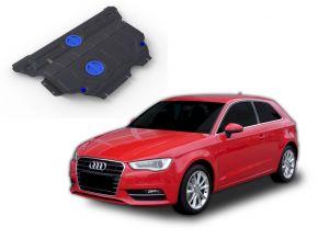 Acél motor- és sebváltóvédő-burkolat Audi A3 FWD/4WD 1,2TSI; FWD/4WD 1,4TFSI; FWD/4WD 1,8TFSI; FWD/4WD 1,8TSI 2012-