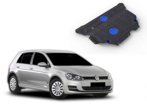 Acél motor- és sebváltóvédő-burkolat Volkswagen Golf VII 1,2TFSI; 1,4TFSI (122hp) 2013-