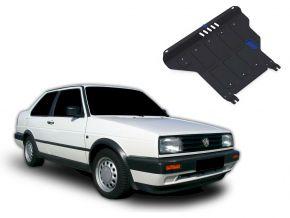 Acél motor- és sebváltóvédő-burkolat Volkswagen Jetta MT 1,6; 1,8 1984-1992