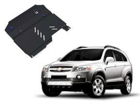 Acél motor- és sebváltóvédő-burkolat Chevrolet Captiva 2,4; 3,2 2006-2011