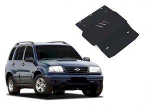 Acél motor- és sebváltóvédő-burkolat Chevrolet Tracker minden motorhoz illeszkedik 1998-2004