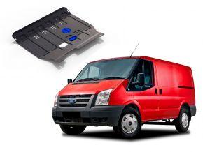 Acél motor- és sebváltóvédő-burkolat Ford Transit  FWD 2,2TDI (csak afeltüntetett motorokhoz!) 2007-2015