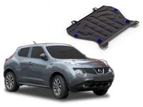 Acél motor- és sebváltóvédő-burkolat Nissan Juke 1.6 2011-2016; 2017-