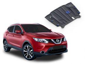 Acél motor- és sebváltóvédő-burkolat Nissan Qashqai CVT 2,0; 1,2; 1,6D 2014-2019