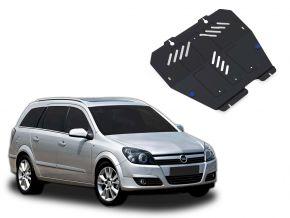 Acél motor- és sebváltóvédő-burkolat Opel Astra 1,4; 1,6; 1,8 2004-2009