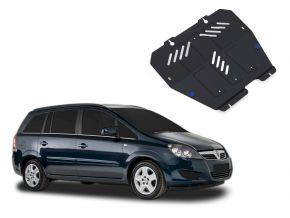Acél motor- és sebváltóvédő-burkolat Opel Zafira 1,6; 1,8; 2,0; 2,2 2006-2011