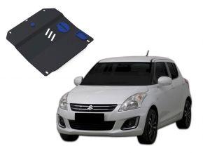Acél motor- és sebváltóvédő-burkolat Suzuki Swift minden motorhoz illeszkedik 2011-2015