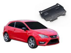 Acél motor- és sebváltóvédő-burkolat Seat Ibiza minden motorhoz illeszkedik 2008-2014