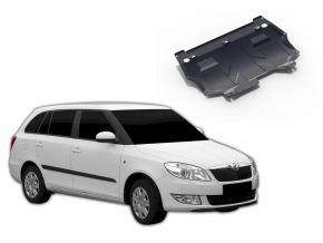 Acél motor- és sebváltóvédő-burkolat Skoda Fabia 1,2; 1,4; 1,6 2007-2015