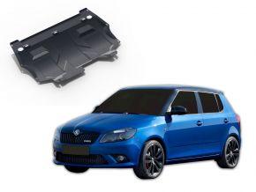 Acél motor- és sebváltóvédő-burkolat Skoda Fabia RS 1,4TSI 2010-2015