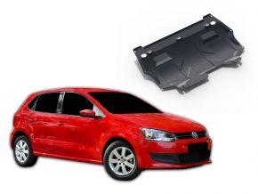 Acél motor- és sebváltóvédő-burkolat Volkswagen Polo 1,2; 1,4; 1,6 2005-2010, 2010-2014