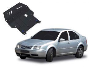 Acél motor- és sebváltóvédő-burkolat Volkswagen Bora minden motorhoz illeszkedik 1998-2005