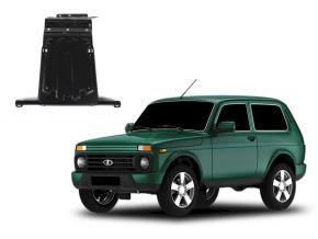 Acél motor- és sebváltóvédő-burkolat Lada 4x4 / Niva / Taiga / Urban minden motorhoz illeszkedik 2001-2015; 2015-