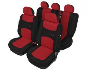 Autóhuzatok Fiat Idea Pólós védőhuzatok A SPORT LINE Autóhuzatok piros- készlet