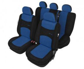 Autóhuzatok Mazda 3 II 2013-ig Pólós védőhuzatok A SPORT LINE Autóhuzatok kék - készlet