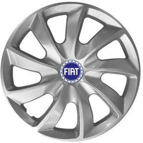 """Dísztárcsa FIAT BLUE 14"""", STIG szürke lakkozott 4 db"""
