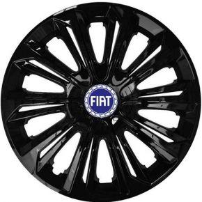"""Dísztárcsa FIAT BLUE 15"""", STRONG fekete lakkozott 4 db"""