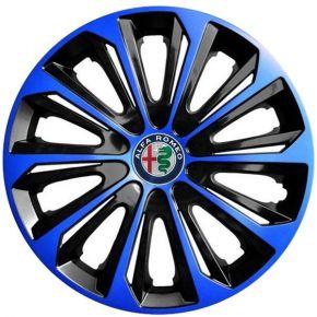 """Dísztárcsa ALFA ROMEO 15"""", STRONG DUOCOLOR kék-fekete 4 db"""