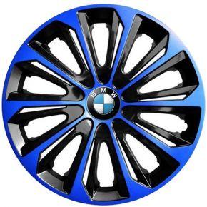 """Dísztárcsa BMW 15"""", STRONG DUOCOLOR kék-fekete 4 db"""