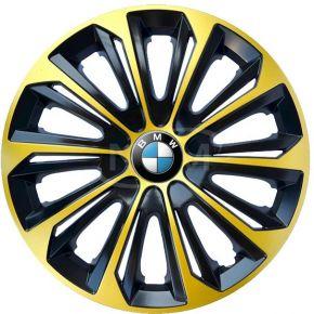 """Dísztárcsa BMW 14"""", STRONG EXTRA arany 4db"""