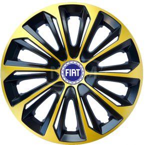 """Dísztárcsa FIAT 15"""", STRONG EXTRA arany 4db"""