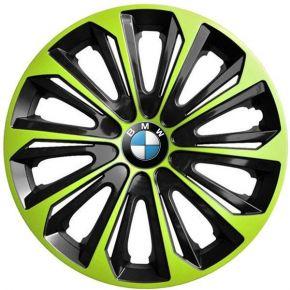 """Dísztárcsa BMW 15"""", STRONG DUOCOLOR zöld-fekete 4 db"""